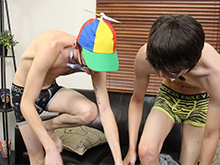 Geeky Twinks Love Riding Cock