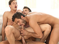 Marc Ruffalo,Rhys Jagger and Marcel Gassion